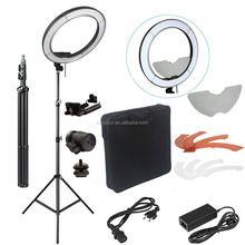 "18"" 55W 5500K 240pcs Dimmable LED ring light round light 18 inch For Camera Phone Video/Studio/Phone/Video"