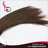 High grade hair weft machine cheap natural wholesale virgin remy long straight style indian hair pins