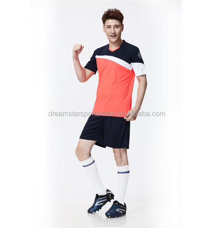 2019 Blue And White Wholesale Fast Delivery Adult Football Jersey Wholesale