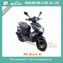 2018 New dot epa retro scooter diesel motor delivery scooters R8 50cc (Euro 4)