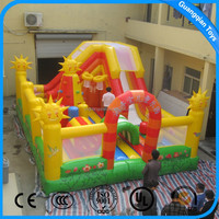 Guangqian Best Quality PVC Material Bouncy Castle Inflatable On Sale