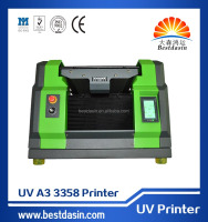 A3 UV 3358 Universal Flatbed printers Top Selling A3 R2000 High resolution pen inkjet printer