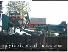Continuous automatic production filterbelt press