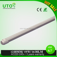 1.2m t8 sex red tube/school office use video xxx japan 2014 t8 led tube/18w t8 led tube8 school light school