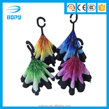 2016 newest hotsale car upside down inverted reverse umbrella for Indonesia market