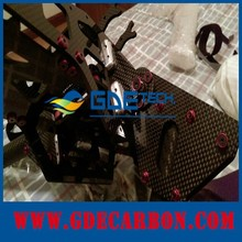 OEM CNC machined parts(RC quad copter frame) as per your drawing