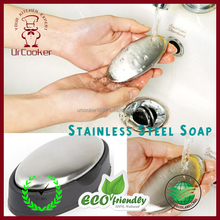 Odor Remover Soap Bar Stainless Steel Soap Odor Rub Away Remover Soap