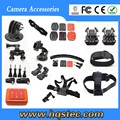 HQS wholesale go pro accessories kit, go pro accessories bundle, go pro accessories set for camera go pro heros 4 3+ 3 2 1.
