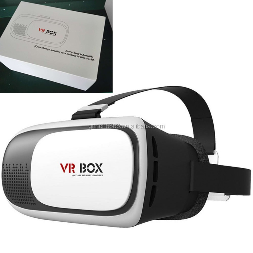 2016 New products portable 2nd generation 3D VR BOX 2 Virtual Reality 3D Glasses for blue film video open sex