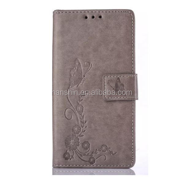 <strong>HOT</strong>! Wholesale Butterflies in Love with Flowers Wallet Flip Leather Case for iPhone 6,6plus