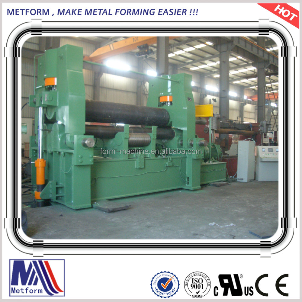 NC controlled Universal Hydraulic <strong>Roll</strong> Bending <strong>Machine</strong> <strong>W11S</strong>-25*2500