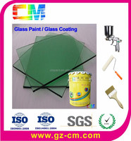 Glass coating- glass lacquer waterbased painting for glass