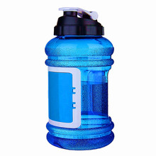 Half Gallon BPA Free New Color 2.2L Sport Shaker Wallet Water Bottle with Keys Storage