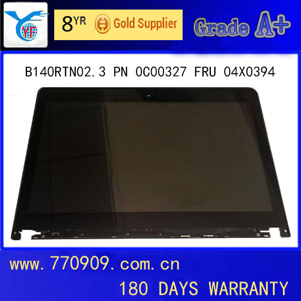 LCD Touch Screen Monitor B140RTN02.3 FRU 04X4193 04X4195 HD+ AG for E440 S440 L440 T431S T440S T430