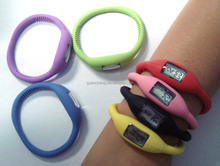 Round interchangeable silicone watch band face