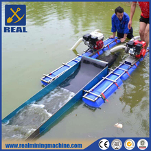 5 Inch alluvial gold mining equipment used gold dredge for sale