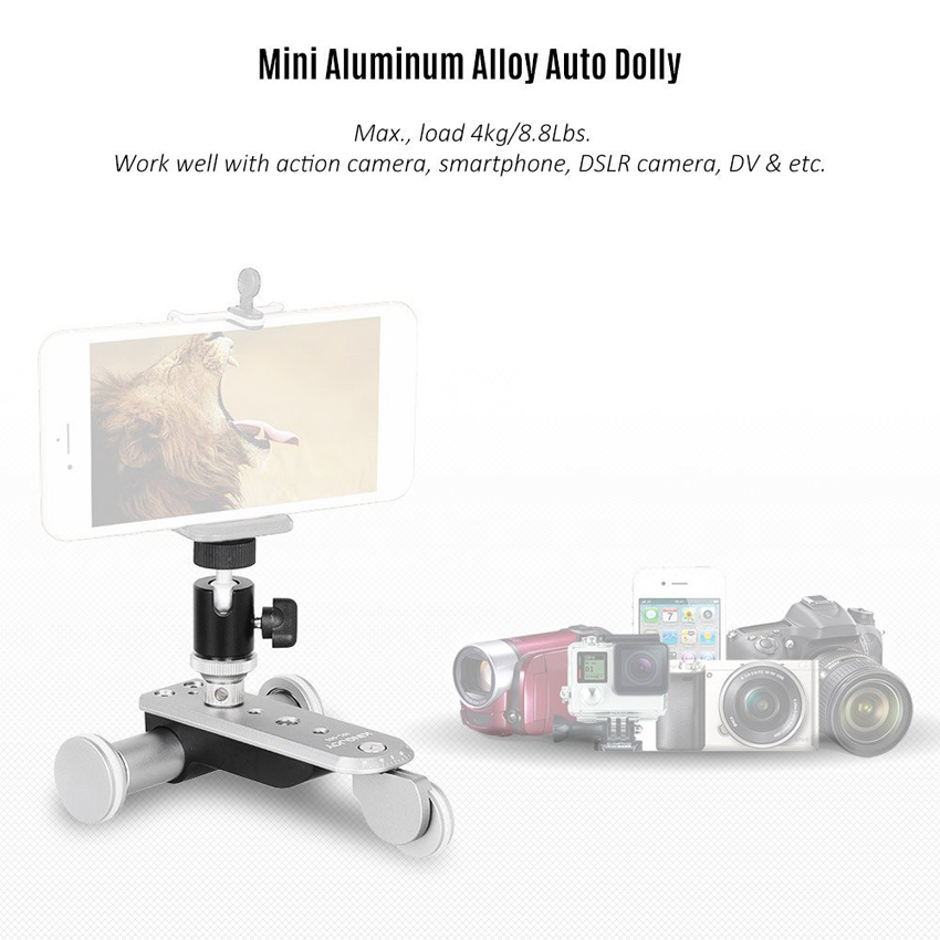 Kingjoy Electronic Photography Auto-dolly PPL-06S for Digital Camera and Smartphone