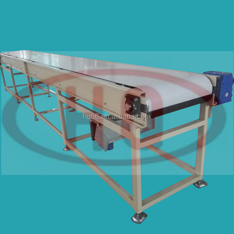 Food grade 304 stainless steel belt conveyor meat transfer belt conveyor coldd storage belt conveyor