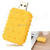 2016 New style Snacks biscuit PVC USB flash drive custom usb disk