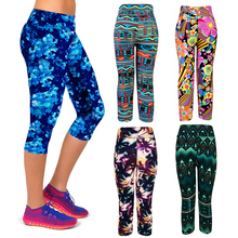 Legging Capri Fitness Leggings Sportswear Gym Tight Yoga Woman Pant Shape Wear