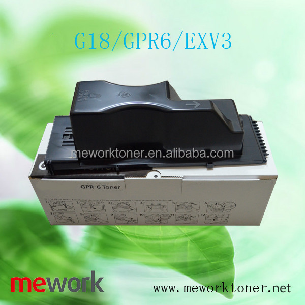 GPR6/G18/C-EXV3 cartridge supplies for Canon IR2220/2800/3000/3300