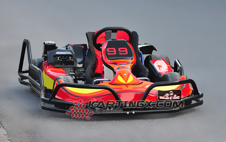 adults racing stock pedal go-kart/electric go kart for sale
