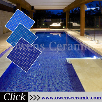 25x25 Stock Glass Blue Pool Mosaic Tiles Swimming Pool - Buy Mosaic Tiles  Swimming Pool,Mosaic Tiles 25x25,Blue Pool Mosaic Tiles Swimming Pool ...