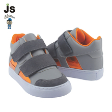 2017 New Arrival kids children Casual Shoes with Velcro Strap of High Quality