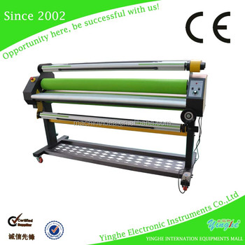 Automatic cold laminator machine