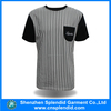 muscle fit t-shirt wholesale 100% cotton soft and comfortable