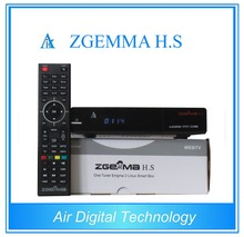 High Definition DVB-S2 Zgemma H.S digital satellite receiver smart card, SD Card/TF Card & PVR Record Ready