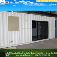 prefab shipping container home/container office for sale