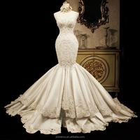 High quality Sweetheart Sparkling Mermaid Cheap Wedding Dress 2017 Custom Made Vestidos De Novia Alibaba China