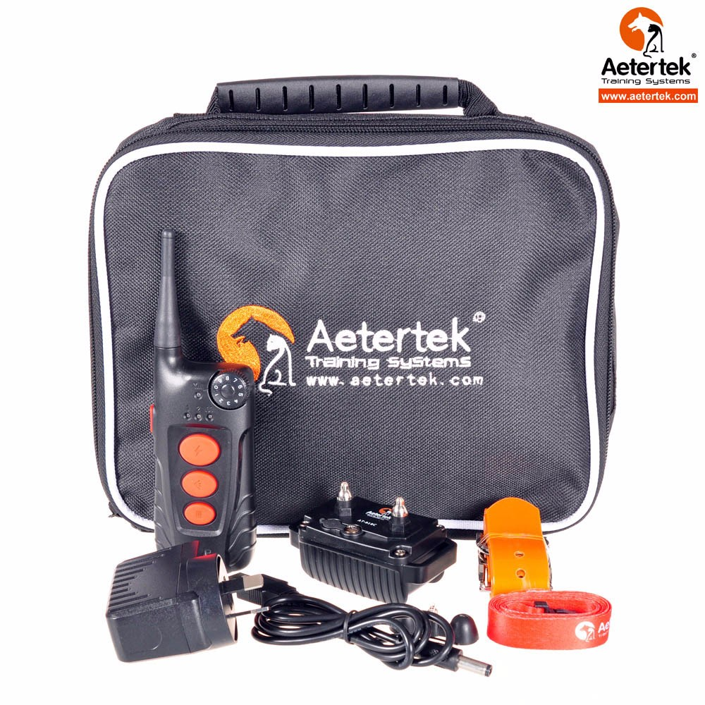 Upgraded NEW Aetertek AT-918C dog shock collar in waterproof 550meter