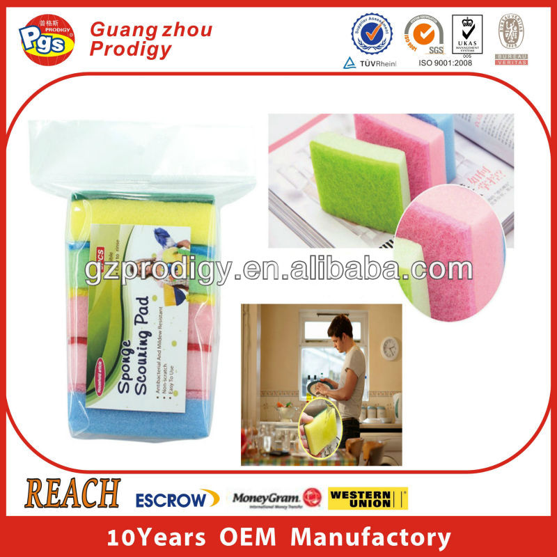 daily consumer products cleaning sponge pad