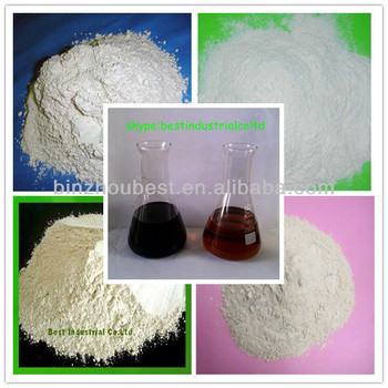 activated bleaching earth for used gasoline oil