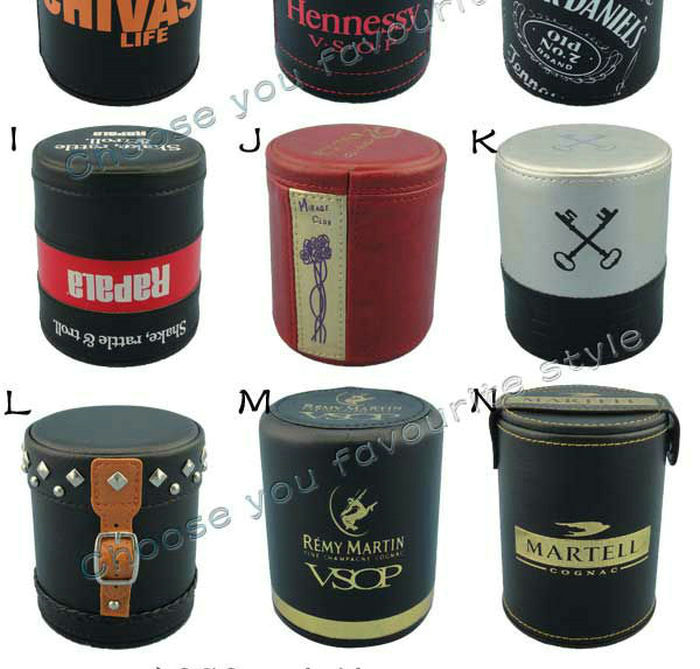 Professional PU Leather Dice Cup For Promotion