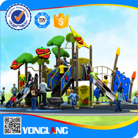 kids outdoor gym equipment structure childrens padded playground
