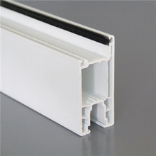 60mm series or 88mm series pvc sliding kitchen cabinet doors and windows profile plastic glass window and door profile