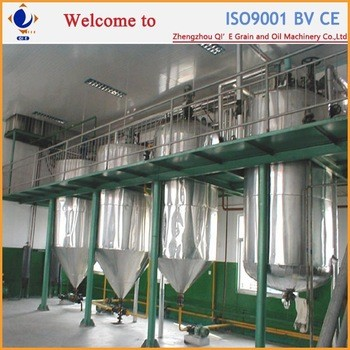 1-50TPD coconut oil refining process