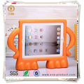EVA foam shockproof free standing minion tablet case for kids, minion case tablet case for ipad 2 3 4
