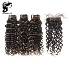Free Sample Cheap Malaysian Hair Bundles With Lace Closure
