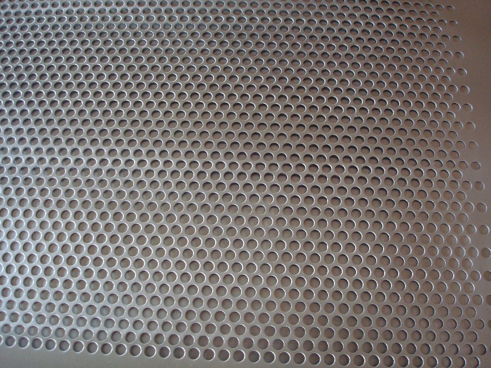2017 dade manufacture 304 perforated stainless steel metal mesh screen sheet for filter