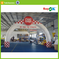 christmas inflatable arch rental inflatable advertising arch