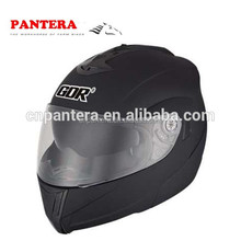 PT839 Fashion Model Cheap ECE Full Face Flip-up Skull Helmet
