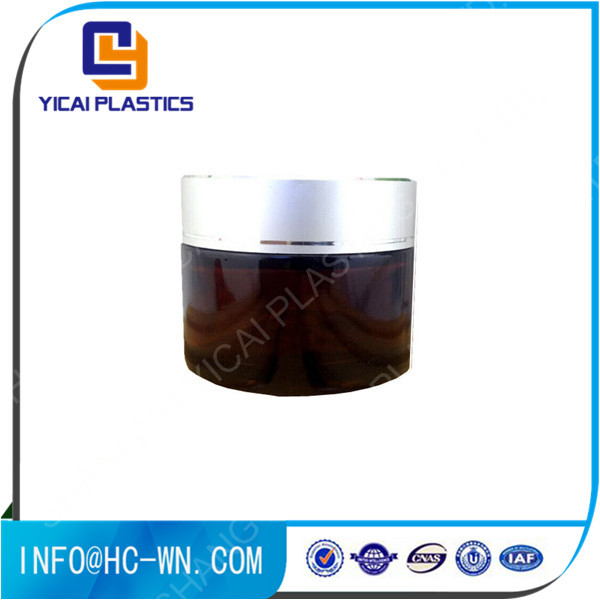 Professional made new arrival eco-friendly cream <strong>glass</strong> jar