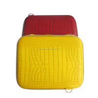 Factory OEM 11 inch PU leather with shoulder EVA laptop sleeve/bags