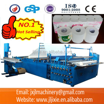 JL-F1900 Automatc Toilet Paper Rolls Embssing,Perforating And Rewinding Machine
