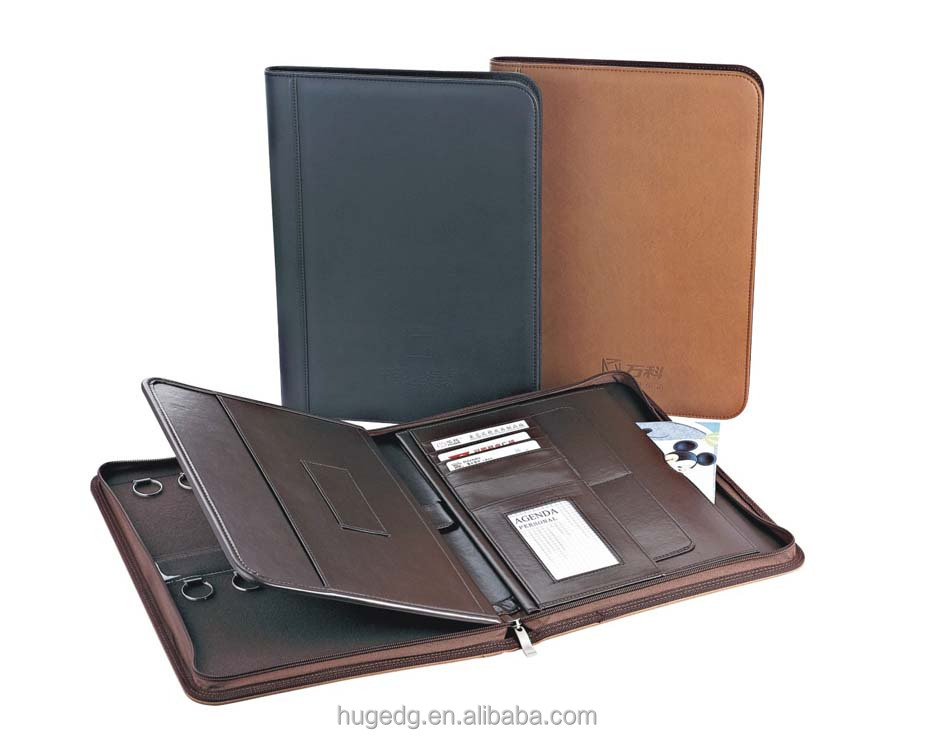 High Quality Nice Design Estate Portfolio Folder With Key Holder