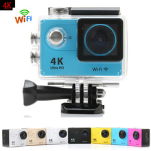 170 degree wide angle lens full hd 1080p 60fps wifi action camera h9 with 2.0inch ltps display, support 4k ultra hd recording
